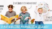 Livres personnalisés pour enfants.