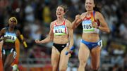 Cliché Olympique : Kalut 4x100m Pékin