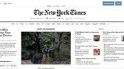 Le New York Times compte 4,5 millions d'abonnés, dont 3,5 en ligne