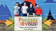 """""""Pousses & vous"""", un espace didactique sur le climat à Ixelles"""