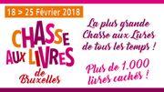 La Chasse aux Livres de Bruxelles - du 18 au 25/02