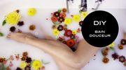 DIY Beauté : un bain velouté au lait, au miel et aux amandes