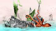 Le calamar géant : la hantise des marins