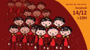 Paliseul: 100 enfants chantent les Noël du Monde…
