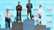 """""""On a cassé la malchance"""", se réjouit Vandoorne après son 1er podium en Formule E"""