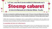Le Stoemp cabaret est de retour jeudi au Centre de la Marionnette de Tournai