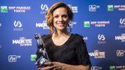 Veerle Baetens reçoit le Magritte de la meilleure actrice