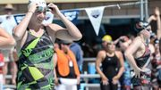 Vollmer, enceinte de six mois, nage en compétition