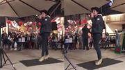 Tranquillou, le chanteur d'Arcade Fire fait un karaoké sur une de ses chansons