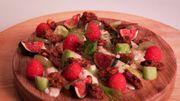 La recette de Stress en cuisine: la tarte aux fruits déstructurée, façon Florian Barbarot