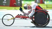 Peter Genyn décroche la 3ème médaille d'or belge sur le 100 m en fauteuil roulant