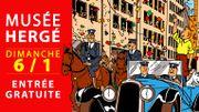 Bon plan : le Musée Hergé gratuit le dimanche 6 janvier