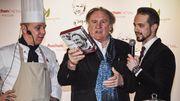 Gérard Depardieu lance sa gamme de produits alimentaires en Russie