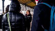 Lors de ses visites, Cataline Sénéchal explique l'importance économique des abattoirs pour le quartier.