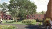 Un éco-quartier sur un site largement verdurisé