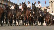 Les 118 cavaliers de l'escorte royale se préparent pour le 21juillet