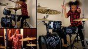 [Zapping 21] La jeune Nandi Bushell répond au défi de batterie de Dave Grohl