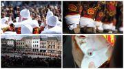 Le carnaval de Binche comme si vous y étiez : direct vidéo depuis le cortège dans les rues de la ville