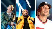Rap: Eminem, Drake et Nekfeu battent de nouveaux records