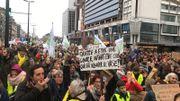 """Les marcheurs, venus en nombre à la """"Marche pour le climat"""""""
