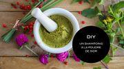 DIY Beauté : un shampoing à la poudre de sidr