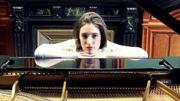 Margaux Vranken, pianiste et chanteuse de jazz, ce dimanche à midi.
