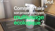 Comment faire son propre nettoyant multi-usages écologique?