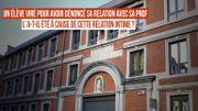 Institut Sainte-Ursule à Namur : un élève viré pour avoir dénoncé une relation intime avec sa prof?