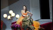 """Danielle De Niese et Michele Pertusi dans """"Don Pasquale"""" (Donizetti) m.e.s Laurent Pelly"""