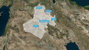 """Des traces de """"cellules dormantes"""" du groupe terroriste Etat Islamique détectées dans plusieurs endroits d'Irak."""