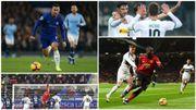 Les frères Hazard à l'assist, Lukaku se rassure à Old Trafford, Courtois et Witsel enchaînent