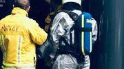 """La procédure """"anthrax"""" a été immédiatement déclenchée."""
