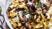 Recette de Candice: Tagliatelles fraîches aux champignons des bois
