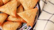 Recette de Candice : Chaussons aux oignons coco-cumin et fromage