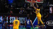 NBA: le All-Star Game pour la Team Lebron, Antetokounmpo MVP, Curry bouillant à 3 points