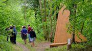 Sentiers d'Art, 141 km d'Art au coeur de  la nature en Condroz/Famenne