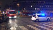 Il n'y a pas que la police qui est mobilisée. Les pompiers aussi.
