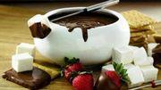 Fondue au chocolat