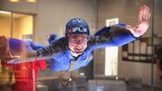 On a testé pour vous le skydiving, un simulateur de chute libre