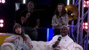 """Orlane, Sonita, Jérémie et Alice donnent un avant-goût de la finale de The Voice sur """"Stop This Flame"""""""