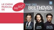 Les frères Capuçon et Frank Braley autour des plus célèbres trios de Beethoven