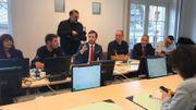 Le bourgmestre de Mons Nicolas Martin a tenu une conférence de presse en fin de matinée.