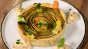 Tarte spirale aux légumes