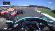F1 Silverstone: Lewis Hamilton et Max Verstappen s'accrochent après une belle bagarre, gros crash du Néerlandais