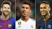 Messi, Ronaldo, Neymar,... qui a été le mieux payé en 2017-2018?