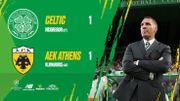 C1 : Le Celtic, sans Boyata, accroché à domicile par l'AEK Athènes