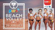 Alex Germys, R.O. et Todiefor vont participer au Pure beach volley: venez les affronter!