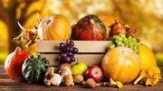 Les fruits et légumes de saison en novembre