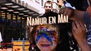 Namur en mai s'agrandit avec un nouvel espace et une occupation de la rue de Fer