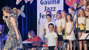 """An Pierlé charme """" Y'a du Gaume Jazz dans l'Air """""""